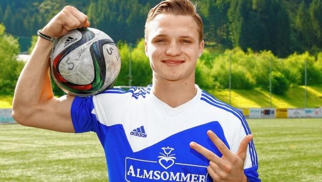 Hüttschlag mit Spielercoach Thomas Kendlbacher gewann den 1. Süd-Hit in St. Martin am Tennengebirge. (Bild: GERHARD SCHIEL)