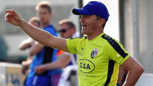 Trainer Miroslav Bojceski verlässt den FC Hallein nach nur acht Pflichtpielen. Foto: ANDREAS TRÖSTER (Bild: Kronen Zeitung)