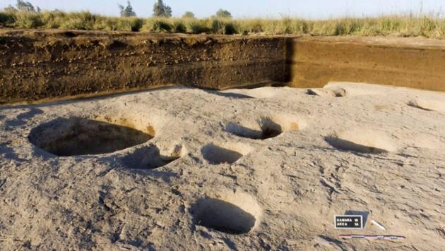Das Dorf wurde von einem ägyptisch-französischen Forscherteam entdeckt. (Bild: AP)