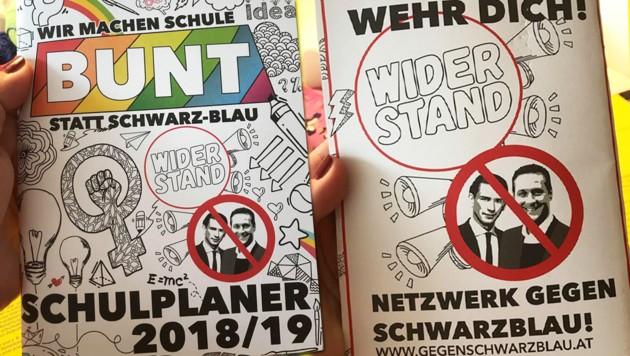 """FPÖ empört sich über """"politischen"""" Schülerkalender"""
