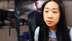 """""""Wir arbeiten eigentlich nur noch im Notfallmodus"""", sagt die 21-jährige H. Lee. (Bild: krone.tv)"""