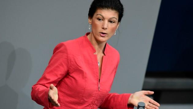 Sahra Wagenknecht (Bild: AFP)