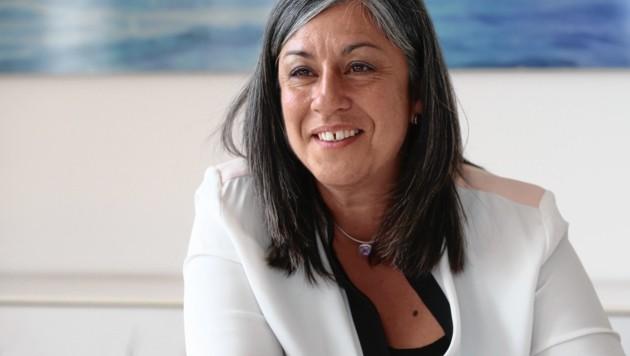 Vizebürgermeisterin Maria Vassilakou gibt ihr Amt ab. (Bild: Zwefo)