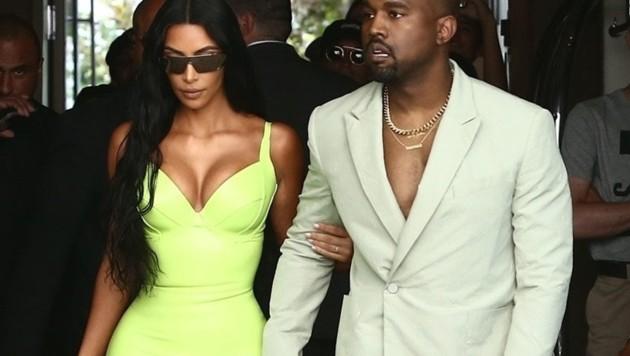 Kim Kardashian trägt zurzeit am liebsten Kleidung in Neonfarben. (Bild: www.PPS.at)