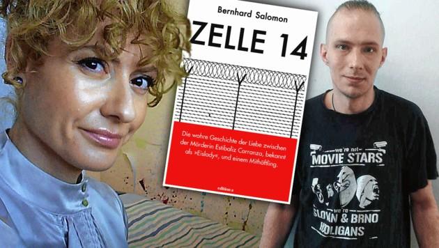 Estibaliz C. hat sich hinter Gittern in Martin L. verliebt. Doch jetzt ist die Beziehung vorbei. (Bild: zVg, krone.at-Grafik)