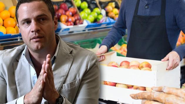 Johann Gudenus (Bild: APA/HANS KLAUS TECHT, stock.adobe.com, krone.at-Grafik)