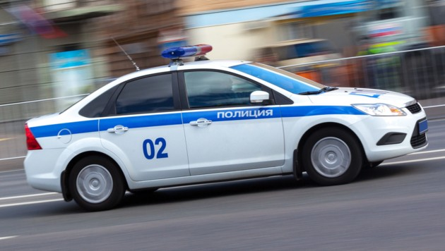 Polizei in Moskau (Symbolfoto) (Bild: stock.adobe.com (Symbolbild))