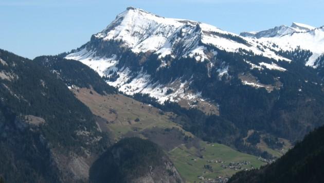 Der Diedamskopf in Vorarlberg (Bild: wikipedia.org)