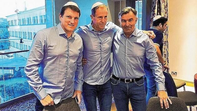 Andi Herzog, Klaus Lindenberger und Willi Ruttensteiner (Bild: Andreas Herzog)