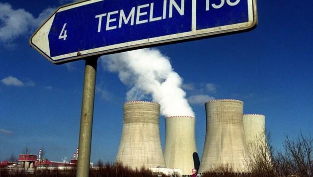 Das südböhmische Atomkraftwerk Temelin (Bild: APA/TECHT Hans Klaus)