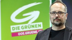 Michel Reimon (Grüne) (Bild: APA/Hannes Draxler)