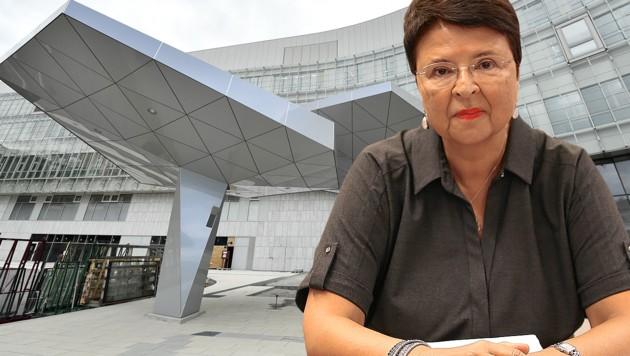 Ex-SPÖ-Finanzstadträtin Renate Brauner war als Zeugin im KH-Nord-Ausschuss geladen.