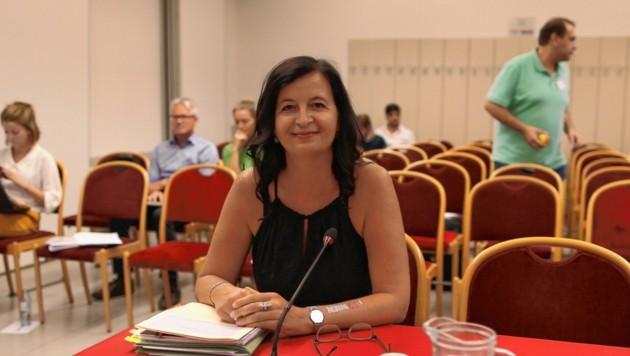 Kurzer Auftritt: Umweltstadträtin Ulli Sima war nach nur 30 Minuten fertig.