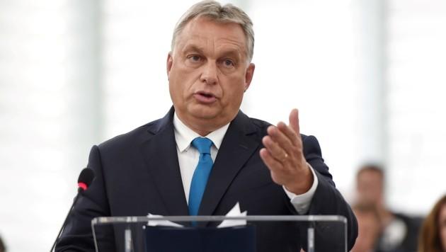 Ungarns Premier Viktor Orban (Bild: AFP)