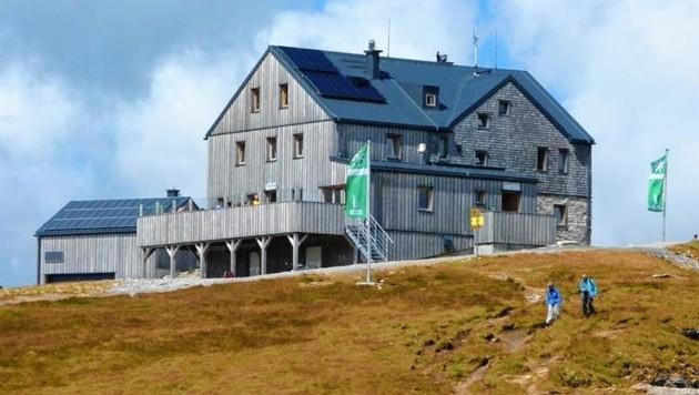 Die Hagener Hütte am Mallnitzer Tauern in Kärnten (Bild: Alpenverein)
