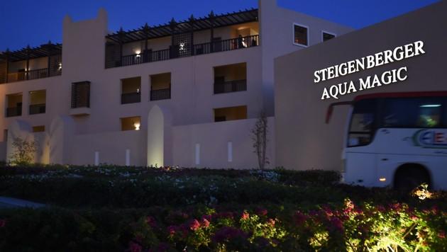 Das Hotel Steigenberger Aqua Magic Hotel in Hurghada (Bild: AFP)
