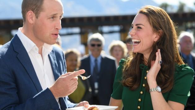 Prinz William und Herzogin Kate (Bild: www.PPS.at)