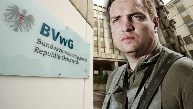 Hubert Keyl zieht seine Bewerbung als Richter am Bundesverwaltungsgericht zurück. (Bild: APA/ROLAND SCHLAGER, Bundesheer/zwettl.at, krone.at-Grafik)