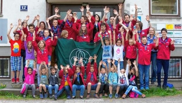 Tragen zu einer regen Vereinskultur bei: die Pfadfindergruppe Trofaiach. (Bild: Pfadfinder Trofaiach)