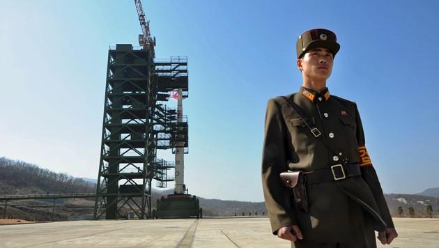 Das Raketentestgelände Tongchang Ri (Bild: APA/AFP/PEDRO UGARTE)