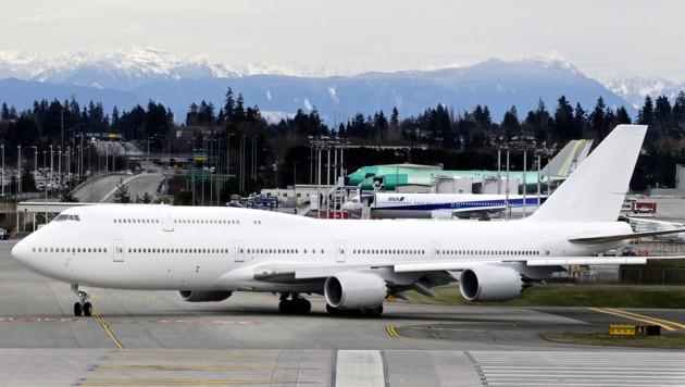 Auf zwei Stockwerken hat in der Boing 747-8 jede Menge Luxus Platz.