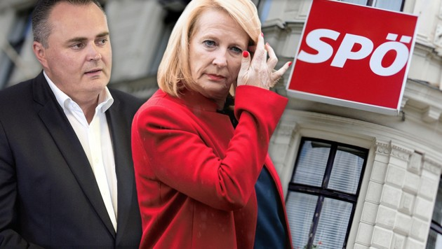 Weder Hans Peter Doskozil noch Doris Bures oder Peter Kaiser wollen die SPÖ übernehmen. (Bild: APA/HBF/PUSCH, APA/ROLAND SCHLAGER, EPA/CHRISTIAN BRUNA, krone.at-Grafik)