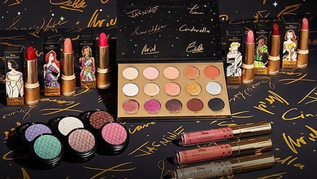 ColourPop und Disney bringen eine Prinzessinnen-Make-up-Kollektion auf den Markt. (Bild: instagram.com/colourpopcosmetics)