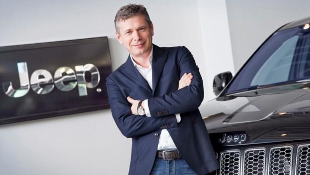 Ernest Wipplinger betreibt Autohäuser in Leonding und Steyregg. (Bild: Claus Scheucher)