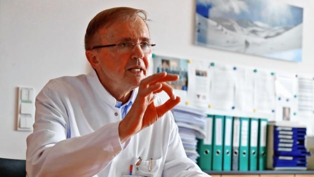Dr. Günther Gastl (Bild: Christof Birbaumer)