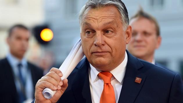 Viktor Orban (Bild: APA/AFP/Christof Stache)