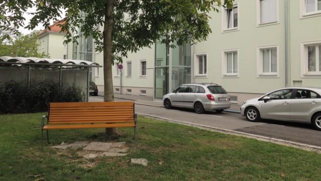 Der Tatort in der Bleibtreustraße (Bild: Markus Schuetz)
