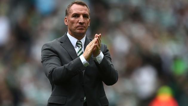 Celtic-Trainer Brendan Rodgers (Bild: AFP)