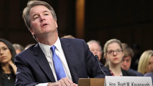 Sieht sich mit Vorwürfen des sexuellen Missbrauchs konfrontiert: Richterkandidat Brett Kavanaugh (Bild: APA/AFP/GETTY IMAGES/WIN MCNAMEE)
