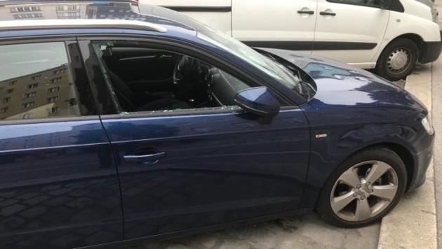 Ein Betrunkener gab seiner Zerstörungswut nach und beschädigte Autos. (Symbolbild) (Bild: LPD Wien)