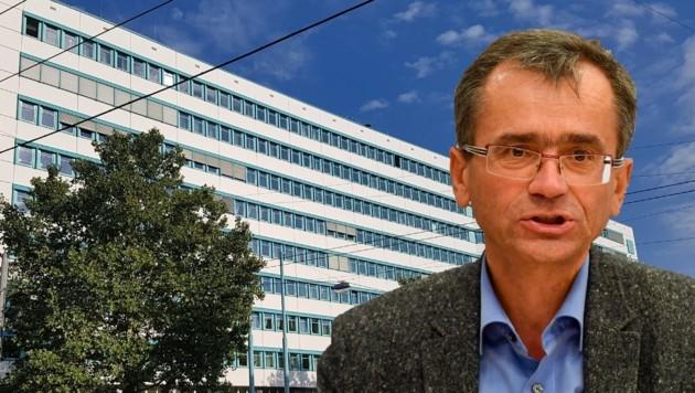 Oberösterreichs Ärztekammerpräsident Peter Niedermoser in Quarantäne. (Bild: Werner Pöchinger, Harald Dostal)