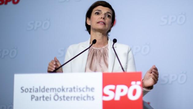 SPÖ-Chefin Pamela Rendi-Wagner (Bild: APA/GEORG HOCHMUTH)
