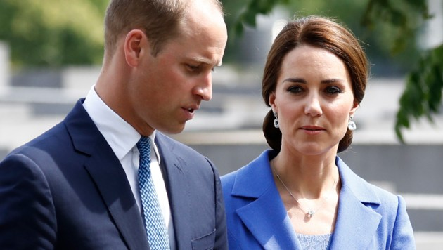 Prinz William und Herzogin Kate (Bild: AFP or licensors)