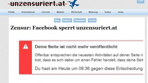 (Bild: Screenshot www.unzensuriert.at)