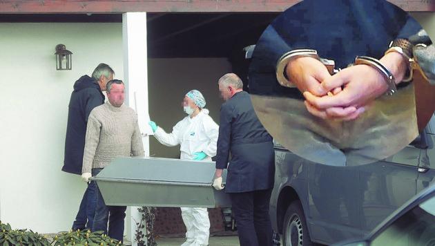Der Angeklagte wird nach dem Mord an seiner Mutter in eine Anstalt für geistig abnorme Rechtsbrecher eingewiesen. (Bild: Daniel Scharinger (2))