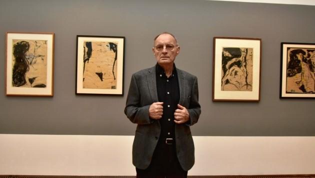Günter Brus feiert heute seinen 80er. Das Bruseum zeigt zu diesem Anlass eine spannende Ausstellung. (Bild: © Richard Heintz 8010 A-Graz Foto Ricardo;)