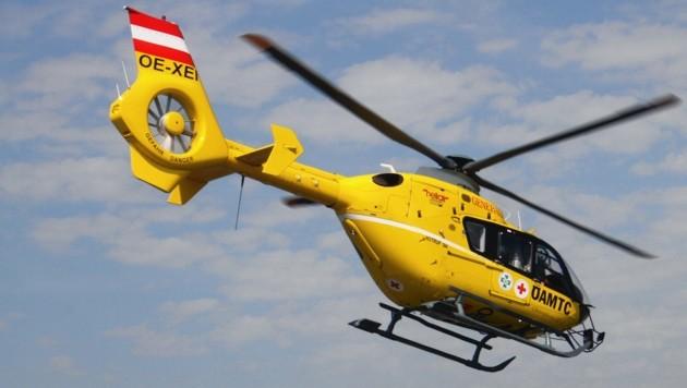 Zwei Hubschrauber mussten ausrücken. (Bild: Kronenzeitung)
