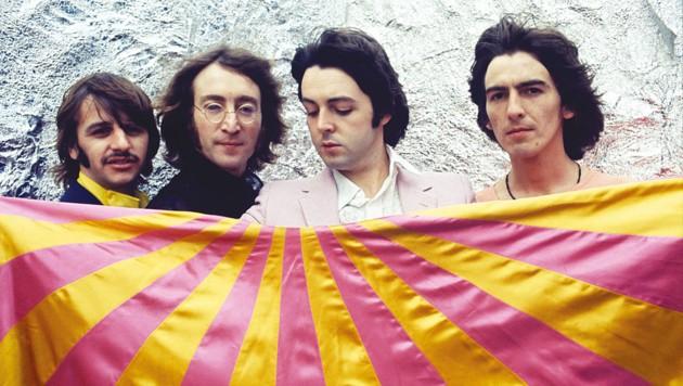 Die Beatles waren auch mit zwei Akkorden einfach genial. (Bild: Universal Music)