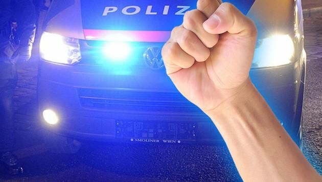 Der Streit in dem Henndorfer Lokal eskalierte. (Symbolbild) (Bild: APA/Herbert P. Oczeret (Symbolfoto))