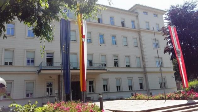 Kärntner Landesregierung, Arnulfplatz, Klagenfurt