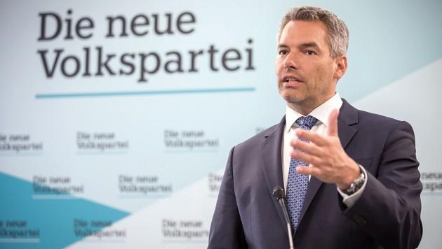 ÖVP-Generalsekretär Karl Nehammer