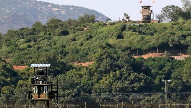 Süd- und Nordkorea räumen Landminen an Grenze