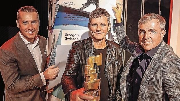 Dominik Sobota, Christian Steinwender und Fred Kendlbacher