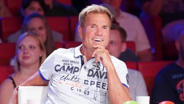 """Jurymitglied Dieter Bohlen bei der RTL-Castingshow """"Das Supertalent"""" in Köln im August 2018 (Bild: Thomas Burg / Action Press / picturedesk.com)"""