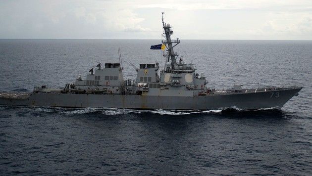 Der Zerstörer USS Decatur