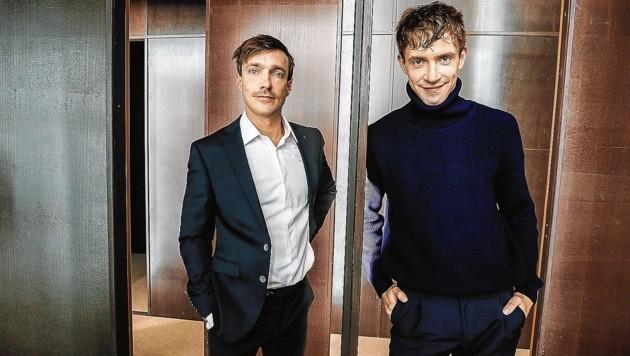 Hamlet und Claudius im Landestheater: Gregor Schulz und Christoph Luser